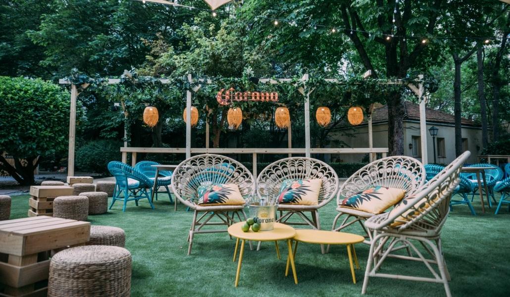 Un jard n de madrid revoluciona el verano madrid secreto - El jardin secreto restaurante madrid ...