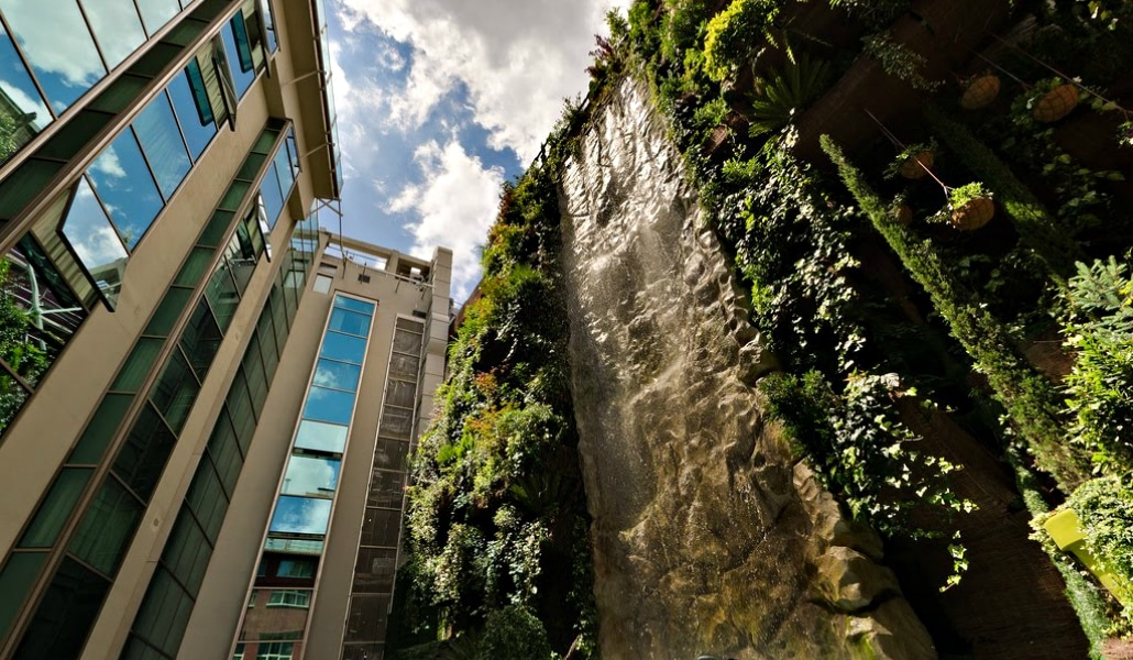 Madrid Posee El Jardin Vertical Mas Grande Del Mundo Madrid Secreto