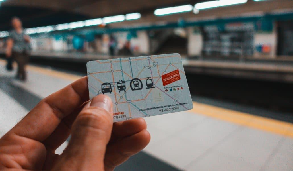 Las tarjetas de transporte de Madrid se cargarán con el